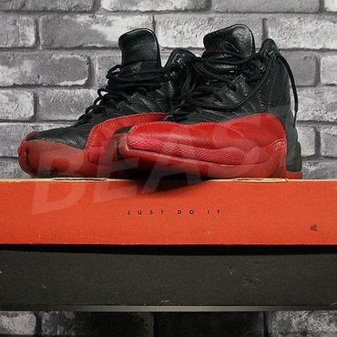 AIR JORDAN 12 BLACK-VARSITY RED 130690-061 28.5CM 96年製 中古