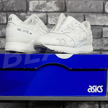 asics GEL-LYTE3 TRIPLE WHITE TH534L monkey time アシックス ゲルライト