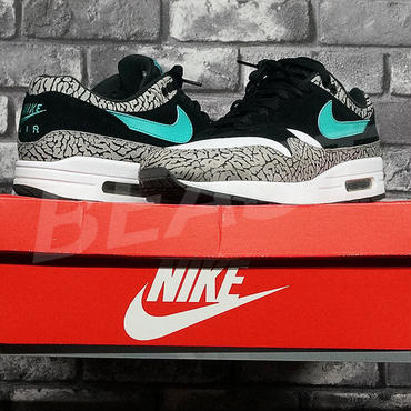 new style ad239 8ca15 AIR MAX 1 PREMIUM RETRO ATMOS ELEPHANT 908366-001 NIKE ナイキ エレファント