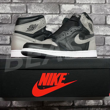NIKE AIR JORDAN 1 RETRO HIGH OG SHADOW 555068-013 US11 ナイキ エアジョーダン