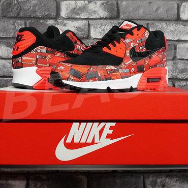 NIKE AIR MAX 90 PRNT WE LOVE NIKE PACK AQ0926-001 ATMOS US9 27CM ナイキ エアマックス