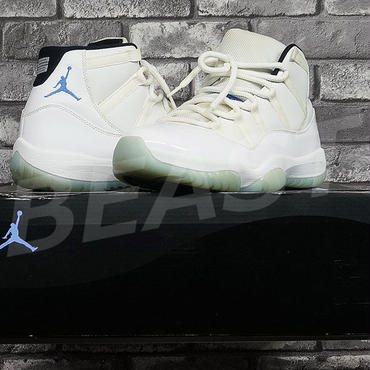 AIR JORDAN 11 RETRO LEGEND BLUE 378037-117 US10  NIKE ナイキ エアジョーダン
