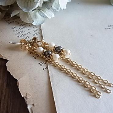 Japan vintage pearl pierced