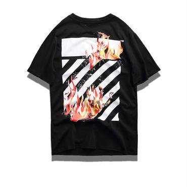 OFF-WHITE(オフホワイト) ◆春夏Tシャツ コットンアウトドア 男女兼用