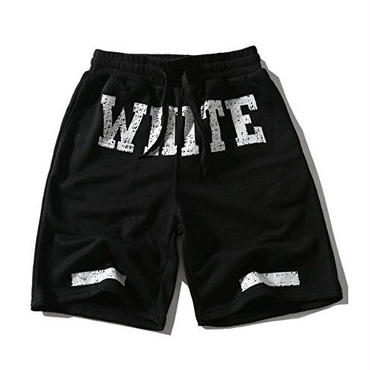 OFF-WHITE(オフホワイト)/ 春夏 / 簡約 /百搭/ショートパンツ/ハーフパンツ