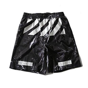 OFF-WHITE(オフホワイト)/ 春夏 / 簡約 /百搭 五分丈 /ハーフ パンツ/ ショートパンツ 2色