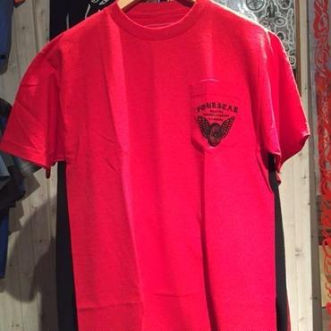 FOUR STAR WHEEL POKET Tシャツ
