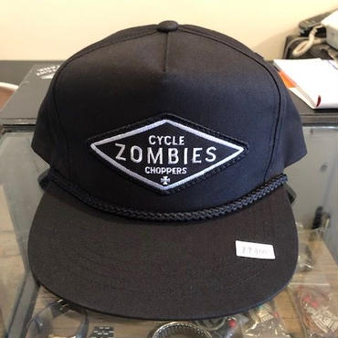 Cycle zombies DIY スナップバックキャップ