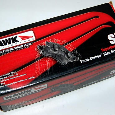 HAWK HB322P717 Super Duty ブレーキパッド   アメ車 修理 車検 カスタム