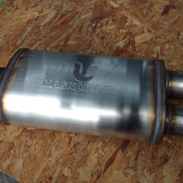 Magnaflow ステンレスマフラー 12198 single3xdual2.5