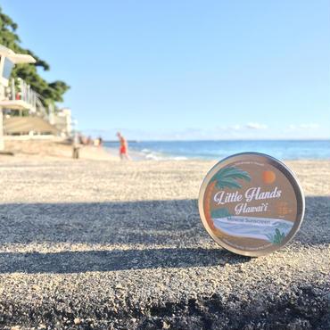 Little  Hands Hawaii sunscreen