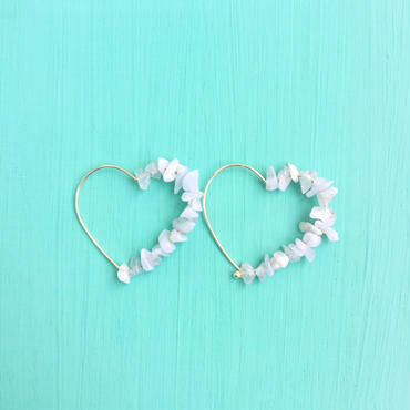 stone heart pierce-White-