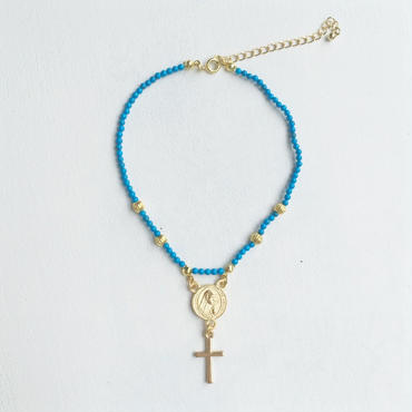 turquoise  maria  anklet
