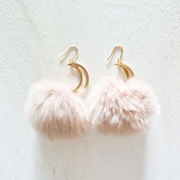 fur pierce- beige-