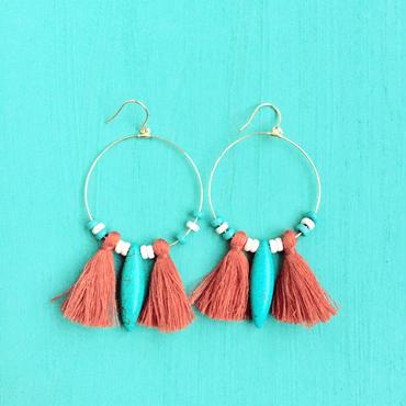 hoop tassel  pierce-brown-