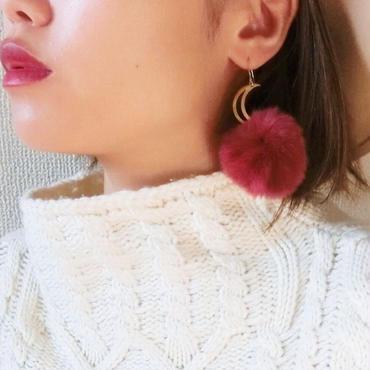 fur pierce-red-