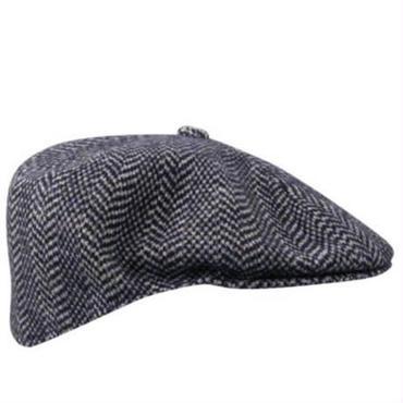 KANGOL Wool Herringbone 504 ダークブルー L