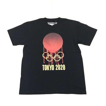 visualreports TOKYO 2020 tee ブラック