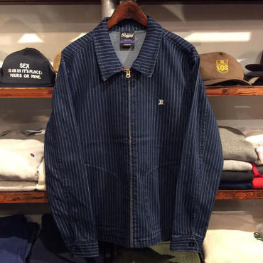 【ラス1】RUGGED OLD R swing top ストライプ L
