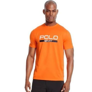POLO SPORT THERMO VENT PERFORMANCE tee オレンジ  L