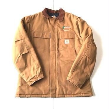 Carhartt DUCK QUILTING COMPANY jacket ブラウン 44