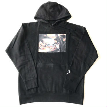 Modestion LA GOOD FELLAS sweat hoodie ブラック