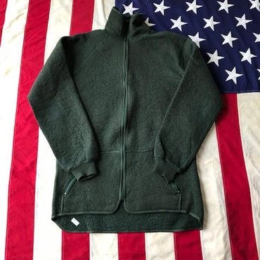 【USED】DUTCH ARMY fleece jacket グリーン 8000/9095