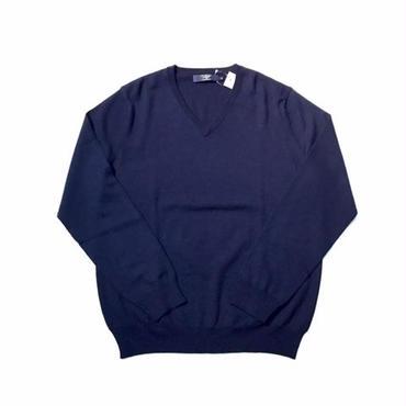 J.CREW MERINO V-NECK sweater ネイビー M
