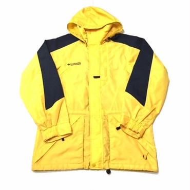 【USED】Columbia Mountain jacket イエロー S