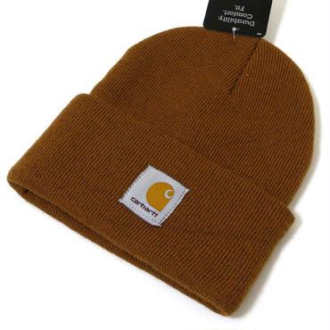 Carhartt KNIT CAP ブラウン