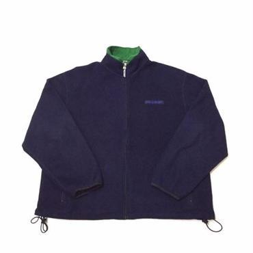 【USED】POLO SPORT FLEECE jacket ネイビー XL