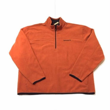 【USED】Timberland FLEECE pullover ブロンズ XXL