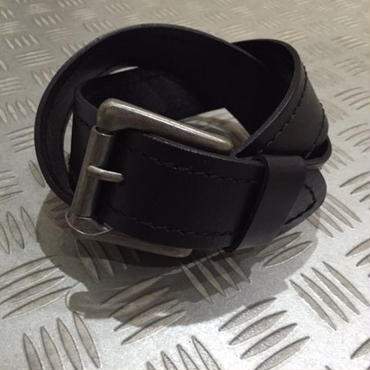 J.CREW LEATHER belt ブラック 30
