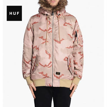 HUF N2B reversible jacket マルチカモ XL