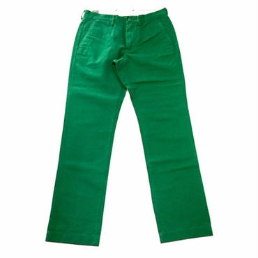 【SALE】J.CREW Broken-in chino in urban slim fit グリーン 30