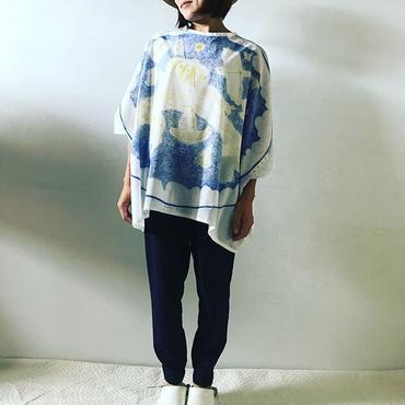 ロチャ王国星空テキスタイル トップス