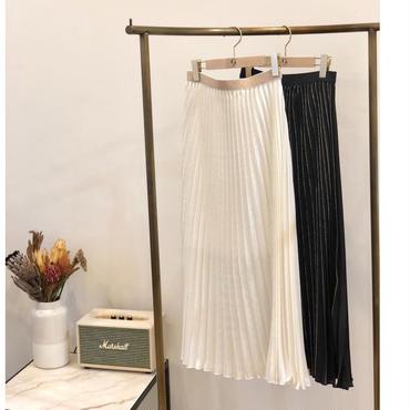 (select)ラメプリーツスカート