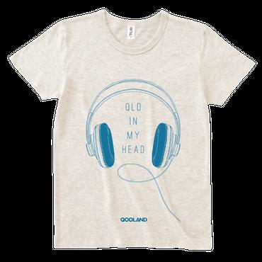 QLD IN MY HEAD Tシャツ (Oatmeal)