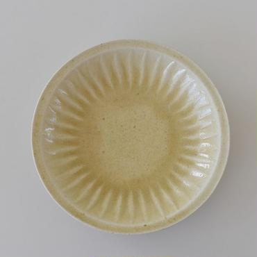 たくまポタリー ヒマワリ 7寸皿 はちみつ釉