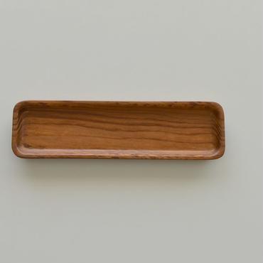 古道具部 時をかけてきた木のおぼん⑧ 肥松の一文字盆(細長角丸盆)