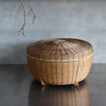 古道具部 竹の飯ひつ 大