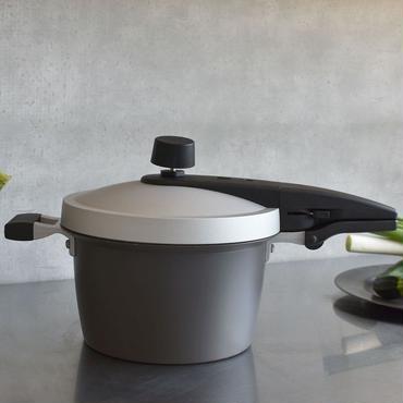 ホクア  EGG FORM 圧力鍋(IH対応)  4.2L 7合炊