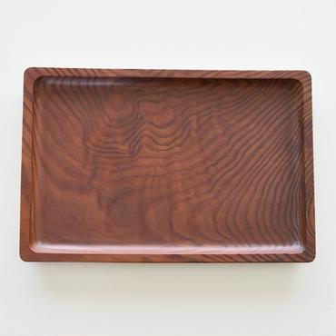 古道具部 時をかけてきた木のおぼん① 肥松の長方盆 大
