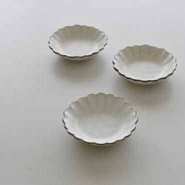たくまポタリー 小皿 ハナ 貫入