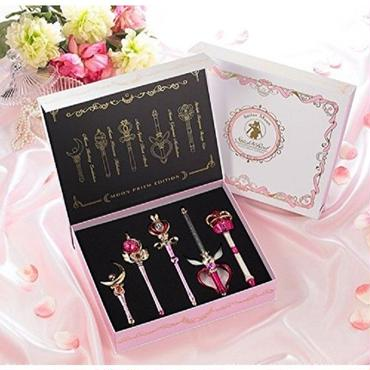[New] Premium BANDAI 25th Sailor Moon Stick & Rod Moon Prism Edition from Japan