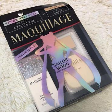 [NEW] Sailor Moon Shiseido MAQUILLAGE Foundation Case Set & makeup base, Japan F/S