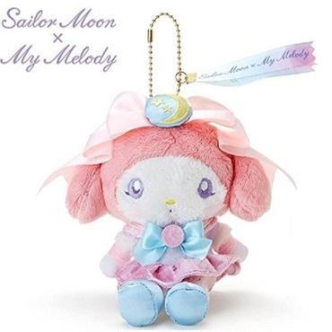 [New] Sailor Moon × My Melody Stuffed Doll Plush Sanrio F/S