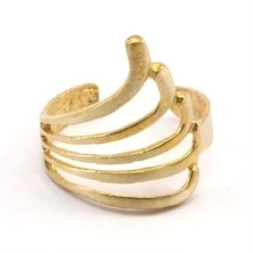 RawBrass Angel Ring / No,2