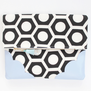 Graphic Clutch Bag No,110