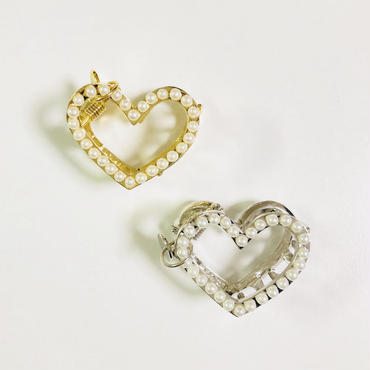 MAST × R ribbon Collaboration Claw / Baby LOVE Pearl SET